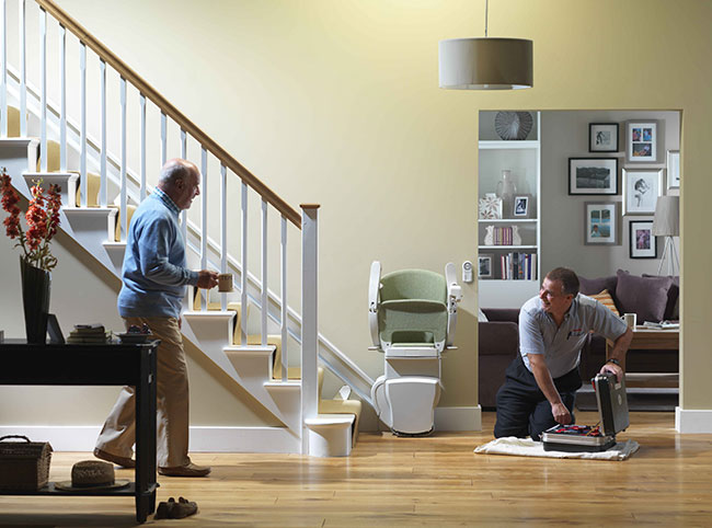 install a stairlift